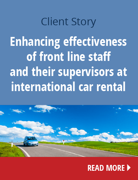 Enhancing staff effectiveness of international car rental company