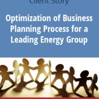 Βελτιστοποίηση των Επιχειρηματικών Διαδικασιών Σχεδιασμού για Ηγετικό Όμιλο στον τομέα Ενέργειας