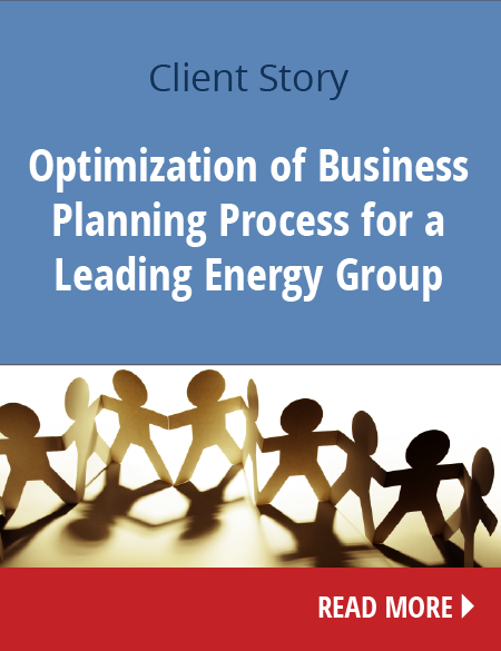 Optimization of Business Planning Process for a Leading Energy Group - Client stories - Conicon