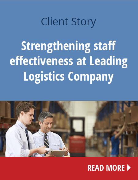 Ενδυνάμωση της αποτελεσματικότητας του προσωπικού σε μια Ηγετική Εταιρεία Logistics