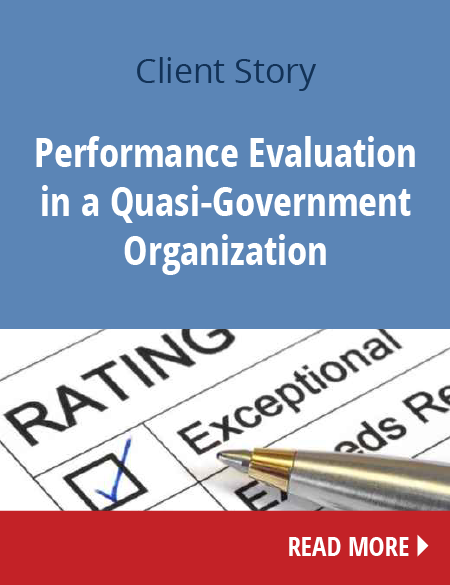Performance Evaluation in a Quasi-Government Organization