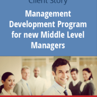Management Development Program for new Middle Level Managers