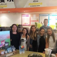 Squeeze Juice Bar In hourse Training