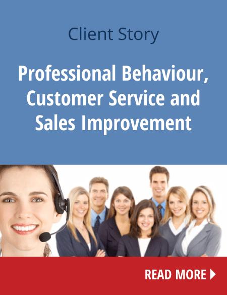 Βελτίωση και Ανάπτυξη Επικοινωνίας στο Επαγγελματικό Περιβάλλον  (Επαγγελματική Συμπεριφορά, Εξυπηρέτηση και Βελτίωση στις Πωλήσεις):