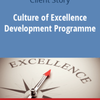 Culture of Excellence Development Programme. The 7 steps in action for Leading European Manufacturing Exporter
