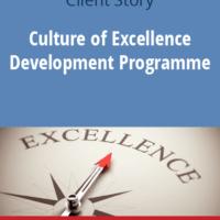 Πρόγραμμα Ανάπτυξης Κουλτούρας Υπεροχής. Tα 7 Βήματα στην Πράξη σε μια Ηγετική Εξαγωγική Βιομηχανία