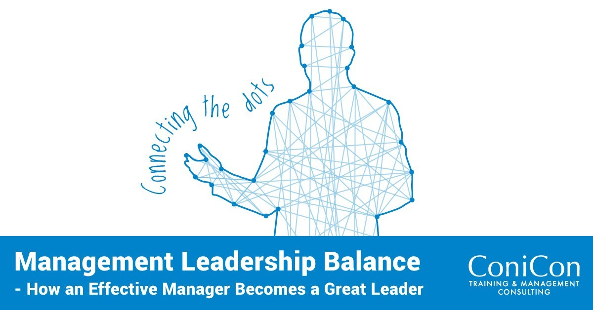 Seminar Nicosia - Management Leadership Balance - How an Effective Manager Becomes a Great Leader
