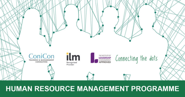 5 Available Seats - HUMAN RESOURCE MANAGEMENT PROGRAMME – Endorsed by The Institute of Leadership and Management (ilm)